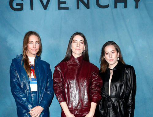 Celebrities at Givenchy Spring-Summer 2019