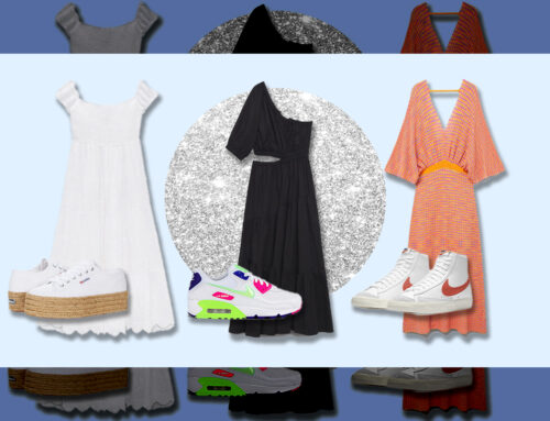 Foolproof Sneaker + Dress Combo Templates To Copy
