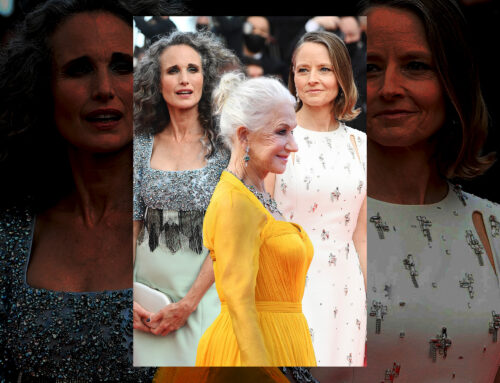 Gray Hair Is Trending at Cannes